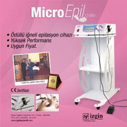 Dünyanın En İyi İğneli Epilasyon Cihazı Micro Epil 13Mhz 0 Türk Mühendisliği Üretici Firma Garantisi İle En Fiyata Satın Alabilirsiniz.